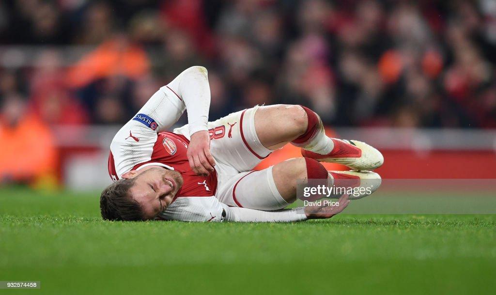 Arsenal v AC Milan - UEFA Europa League Round of 16; Second Leg : News Photo
