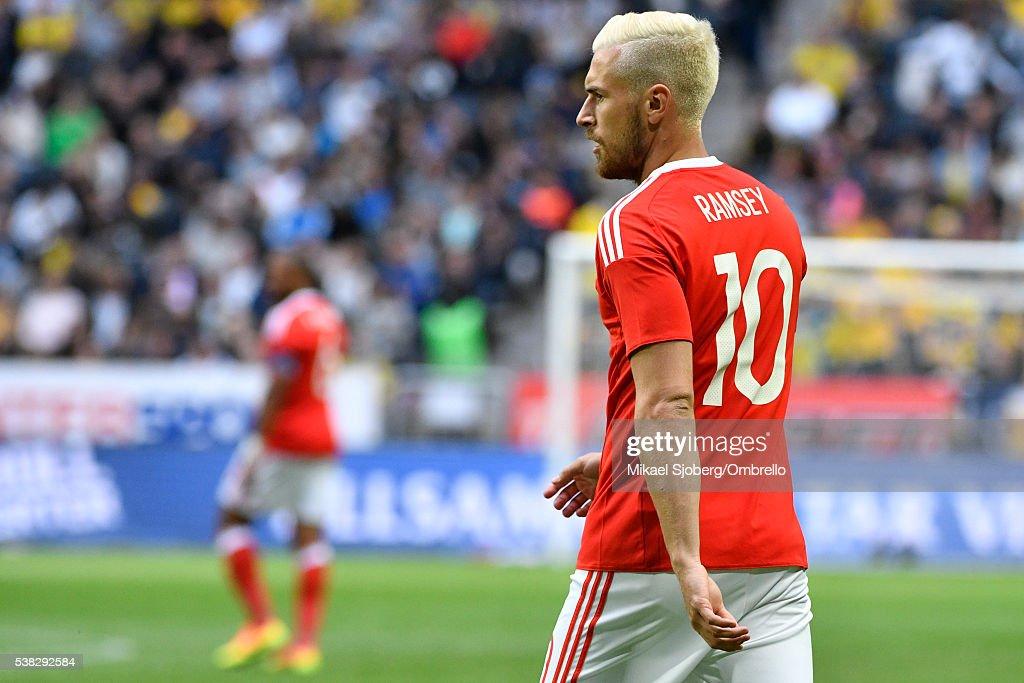 Sweden v Wales - International Friendly : News Photo