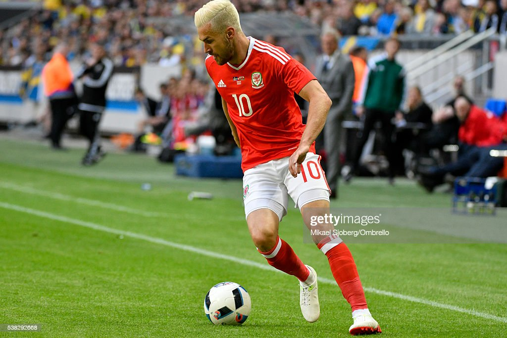 Sweden v Wales - International Friendly : News Photo