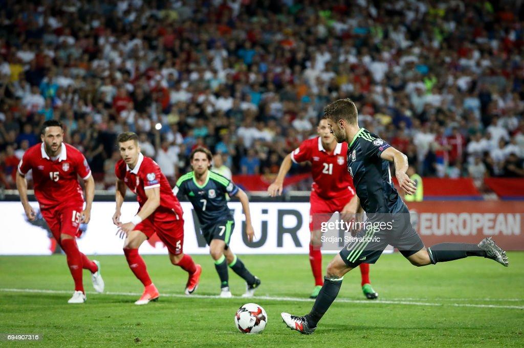Serbia v Wales - FIFA 2018 World Cup Qualifier : Nachrichtenfoto