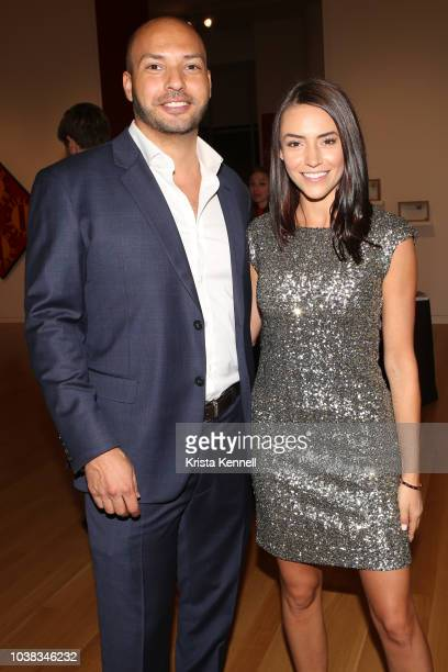Aaron Reed and Haley Fimbly at Thomas Keown 40th Birthday To Benefit Many Hopes on September 22 2018 in New York City