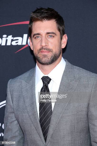 Aaron Rodgers attends The 2017 ESPYS at Microsoft Theater on July 12 2017 in Los Angeles California