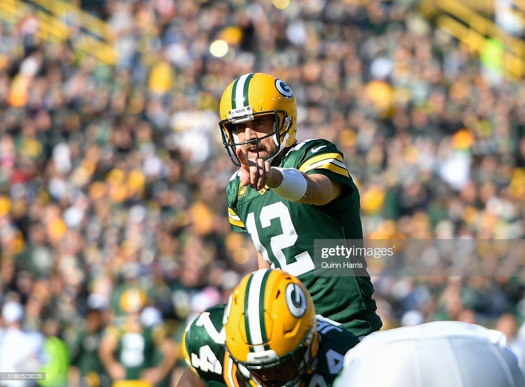 Oakland Raiders vGreen Bay Packers : News Photo