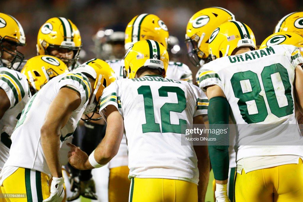 Green Bay Packers vChicago Bears : Fotografía de noticias