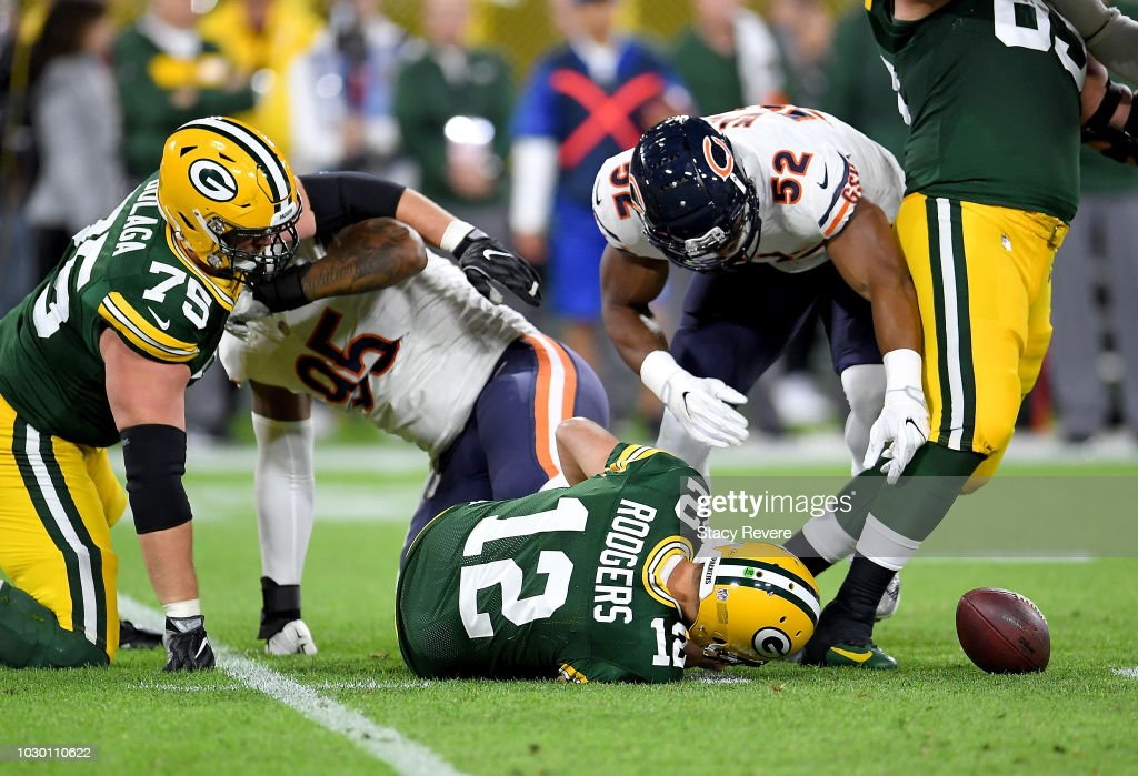 Chicago Bears v Green Bay Packers : Nachrichtenfoto