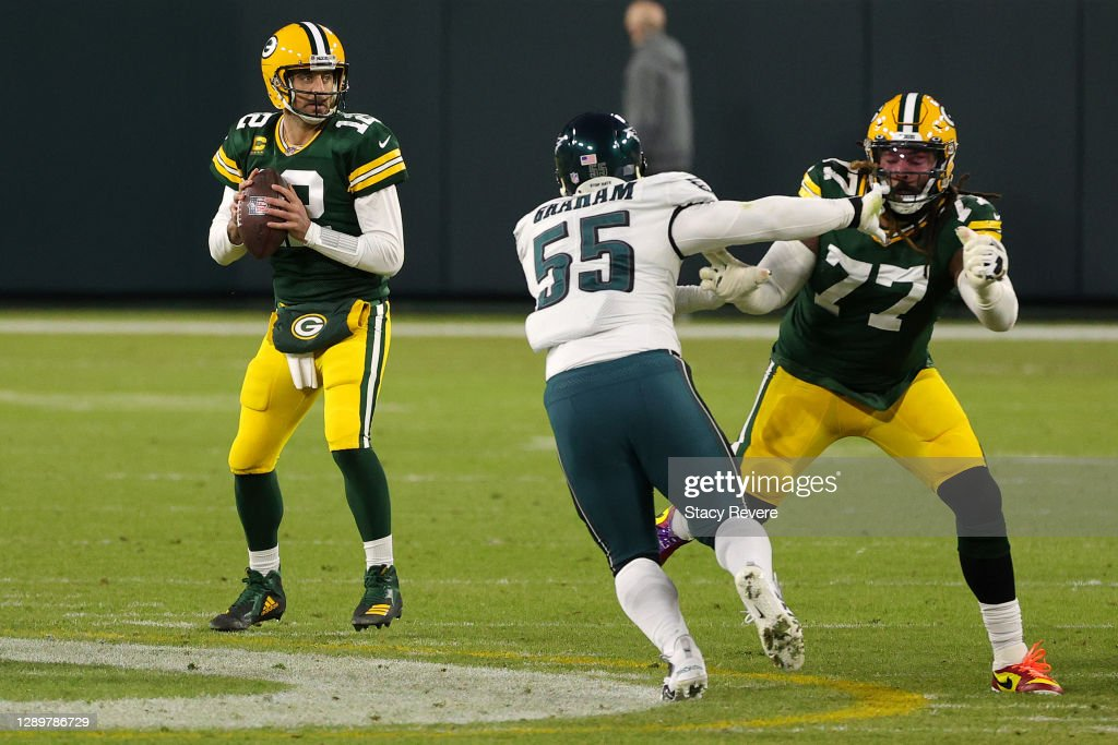 Philadelphia Eagles v Green Bay Packers : News Photo