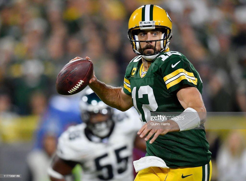 Philadelphia Eagles vGreen Bay Packers : ニュース写真