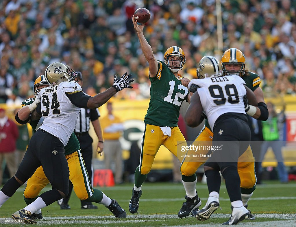 New Orleans Saints v Green Bay Packers : ニュース写真