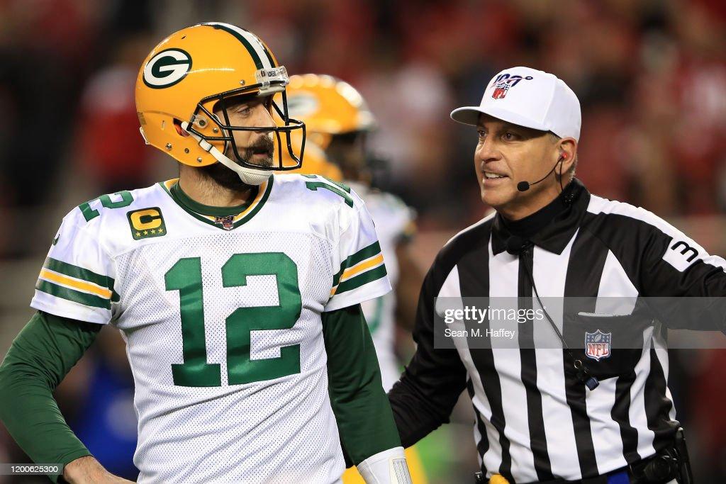 NFC Championship - Green Bay Packers v San Francisco 49ers : News Photo