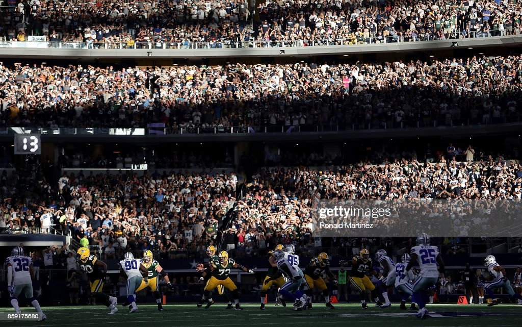 Green Bay Packers v Dallas Cowboys : Foto jornalística