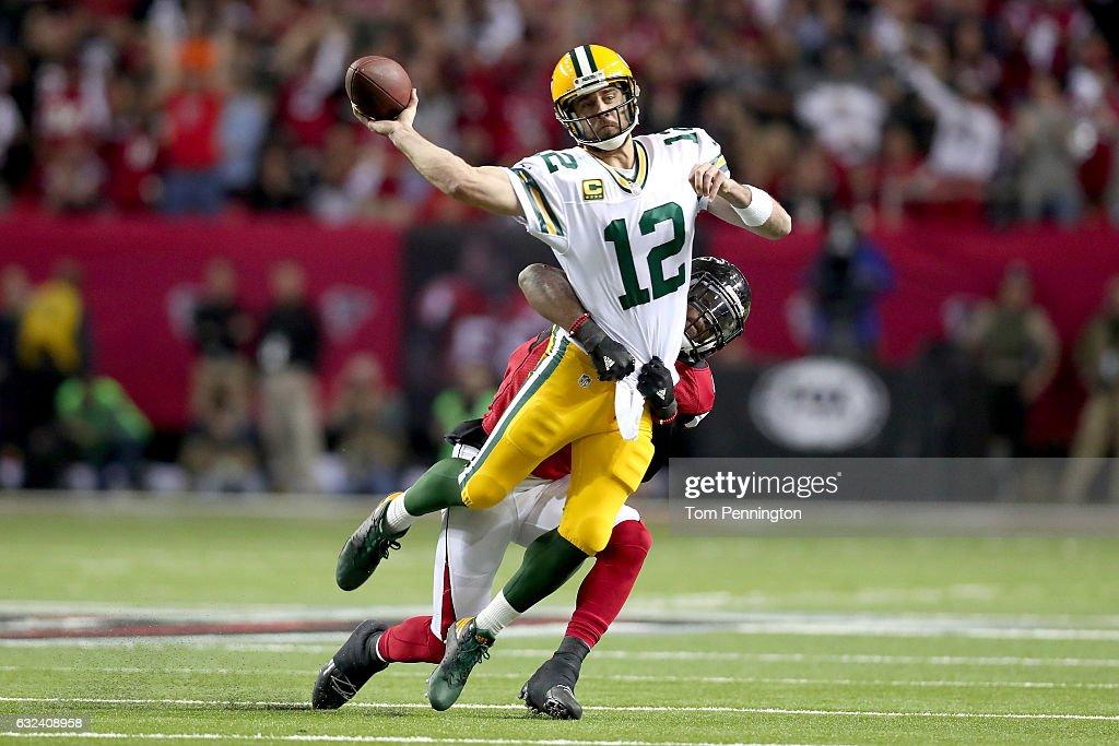 NFC Championship - Green Bay Packers v Atlanta Falcons : ニュース写真