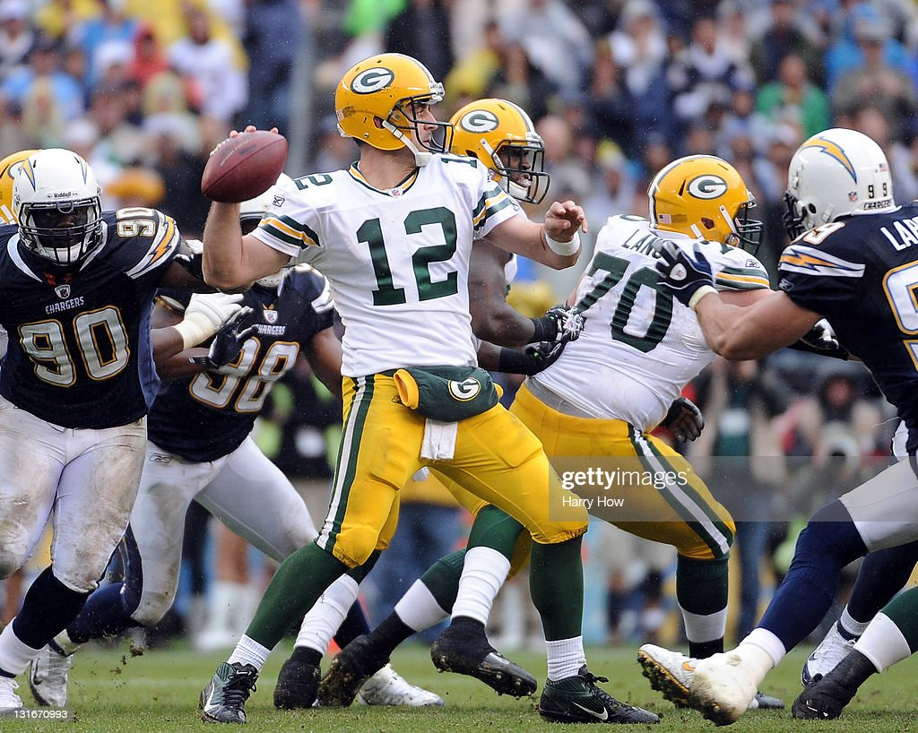 Green Bay Packers v San Diego Chargers : ニュース写真