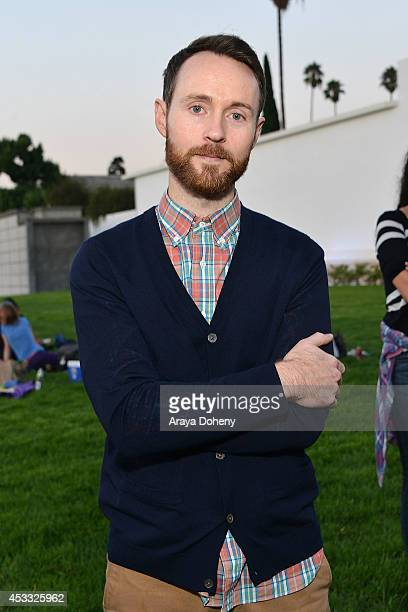 Aaron Ruell attends the Sundance NEXT FEST screening of 'Napoleon Dynamite' at Hollywood Forever on August 7 2014 in Hollywood California