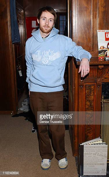 Aaron Ruell during 2005 Park City Levi's Ranch at Levi's House in Park City Utah United States