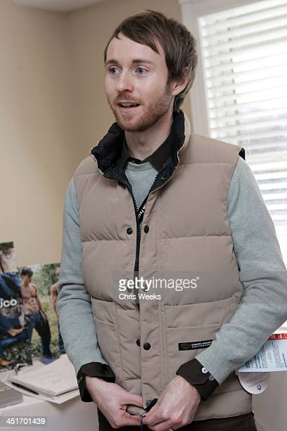Aaron Ruell during 2005 Park City The Activision House Benefiting St Jude Children's Research Hospital at 262 Grant Avenue in Park City Utah United...