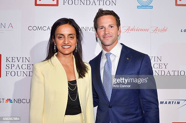 Aaron Schock attends an after party at Poste at the Hotel Monaco after the Kevin Spacey Foundation Benefit Concert at Sidney Harmon Hall on September...