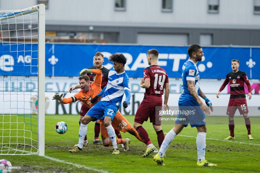 SV Darmstadt 98 v 1. FC Nürnberg - Second Bundesliga : ニュース写真