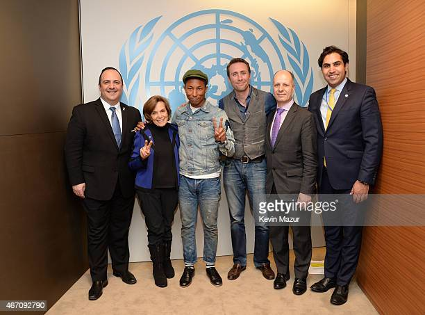 Aaron Sherinian Chief Communications and Marketing Officer United Nations Foundation Sylvia Earle National Geographic ExplorerinResidence Pharrell...