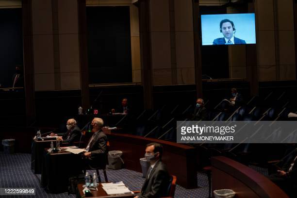 Aaron SJ Zelinsky Assistant US Attorney US Attorney's Office for the District of Maryland US Department of Justice is seen participating remotely...