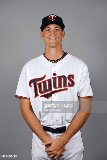 Aaron Slegers of the Minnesota Twins poses during Photo Day on Wednesday February 21 2018 at CenturyLink Sports Complex in Fort Myers Florida