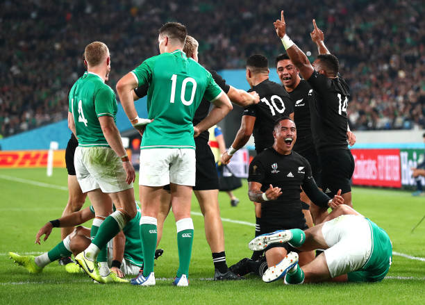 JPN: New Zealand v Ireland - Rugby World Cup 2019: Quarter Final