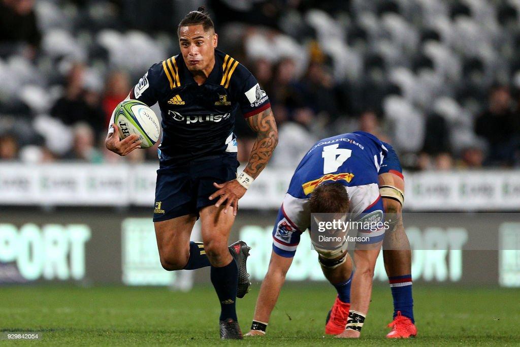 Super Rugby Rd 4 - Highlanders v Stormers : News Photo