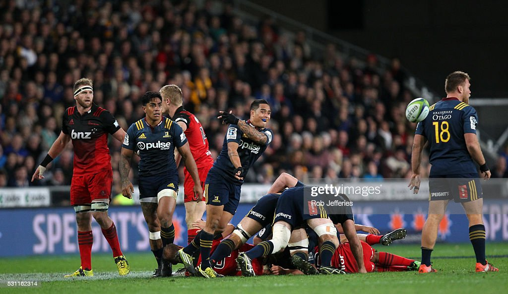 Super Rugby Rd 12 - Highlanders v Crusaders