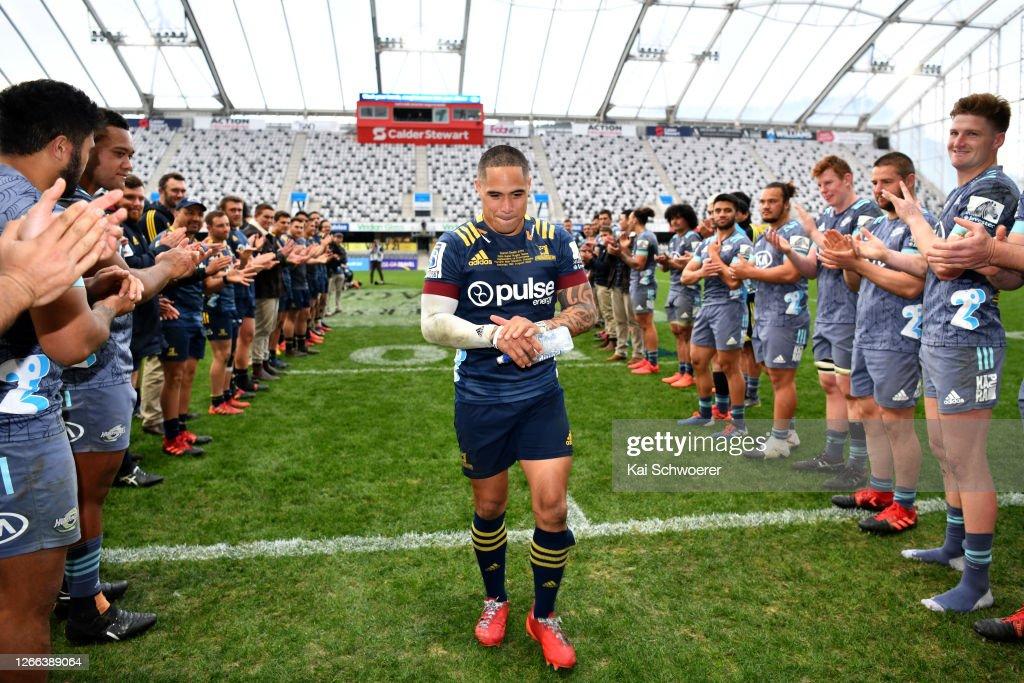 Super Rugby Aotearoa Rd 10 - Highlanders v Hurricanes : ニュース写真