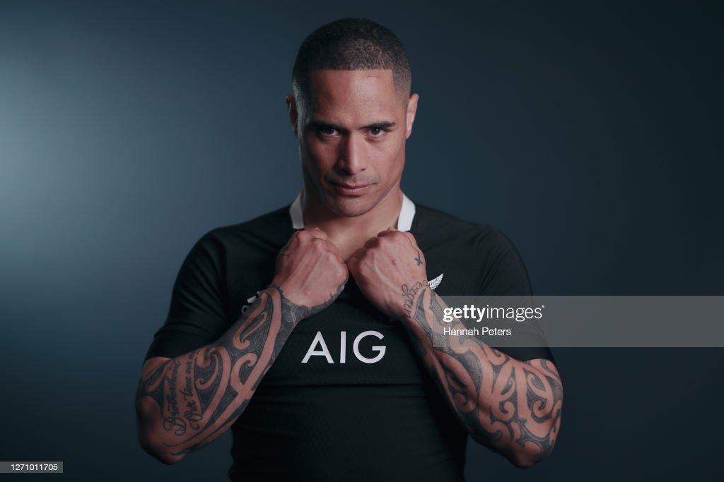 All Blacks Portrait Session : News Photo