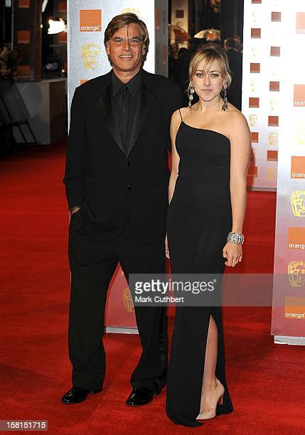 Aaron Sorkin And Wife Julia Bingham Arriving At The 2011 Orange British Academy Film Awards At The Royal Opera House Covent Garden London