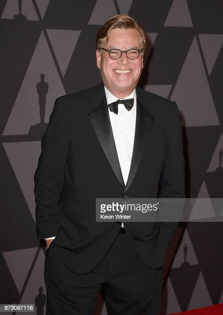 Aaron Sorkin attends the Academy of Motion Picture Arts and Sciences' 9th Annual Governors Awards at The Ray Dolby Ballroom at Hollywood Highland...