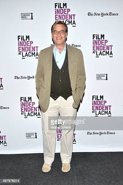 Aaron Sorkin attends the Film Independent at LACMA Live Read with Surprise Guest Director at Bing Theatre At LACMA on November 19, 2015 in Los...