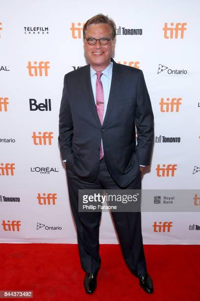 Aaron Sorkin attends the 'Molly's Game' premiere during the 2017 Toronto International Film Festival at The Elgin on September 8 2017 in Toronto...
