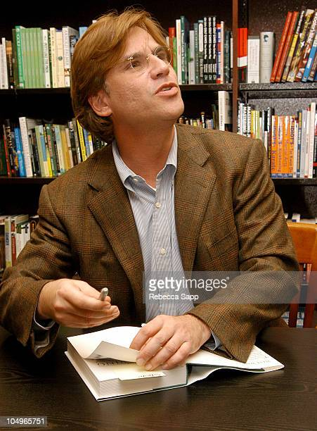 """Aaron Sorkin during Aaron Sorkin Signs his Book """"The West Wing Seasons 3 & 4 The Shooting Scripts"""" at Barnes and Noble at The Grove in Los Angeles,..."""