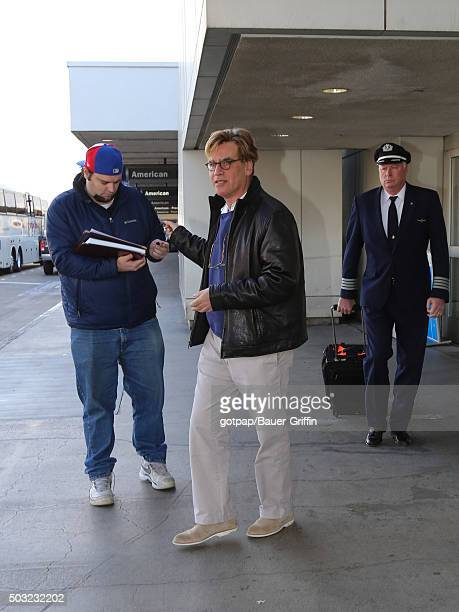 Aaron Sorkin is seen on January 02 2016 in Los Angeles California
