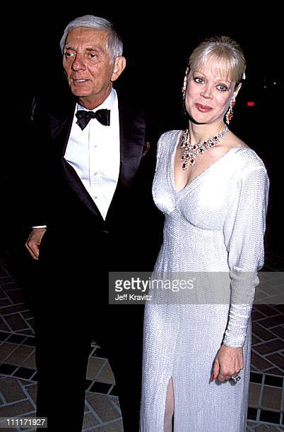 Aaron Spelling Candy Spelling during Dynasty Fashion Show party in Beverly Hills California United States