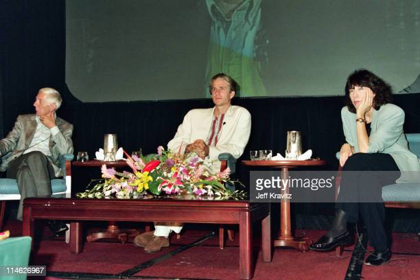 Aaron Spelling Matthew Modine and Lily Tomlin during HBO's TCA 1993 at RitzCarlton in Pasadena CA United States