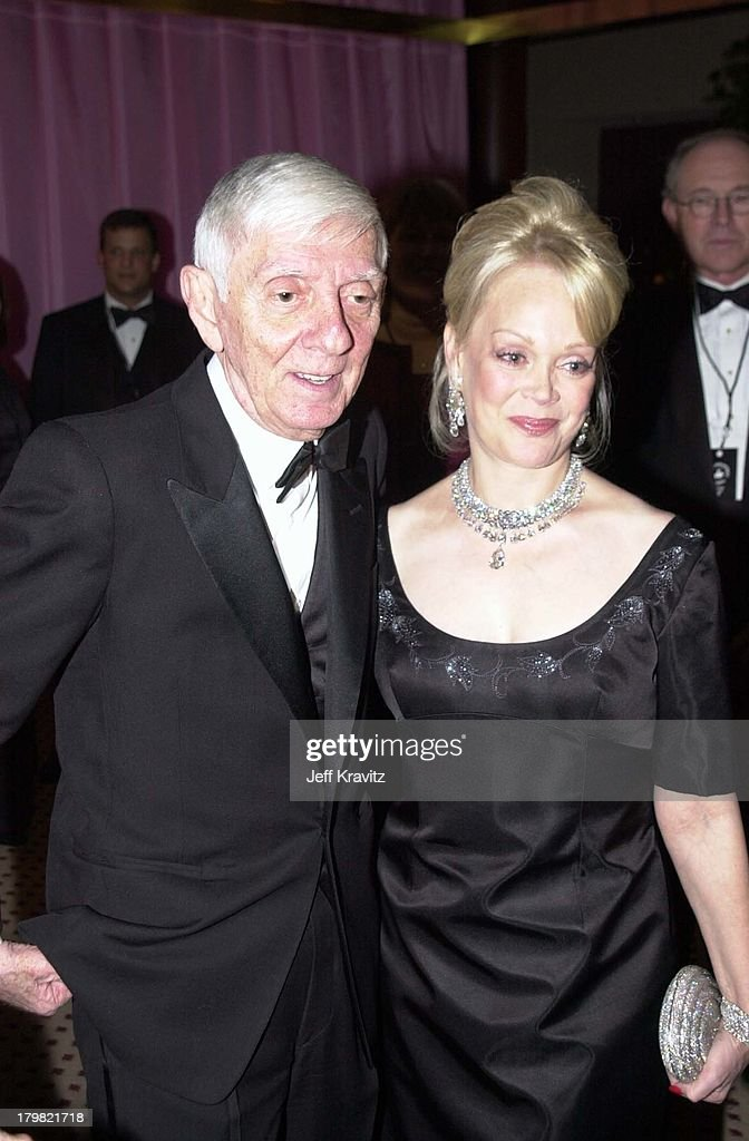 Aaron Spelling & Tori Spelling during Carousel Ball 2000 in Beverly Hills, California, United States.