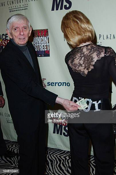 Aaron Spelling wife Candy Spelling during The 10th Annual Race to Erase MS at The Century Plaza Hotel Spa in Century City California United States