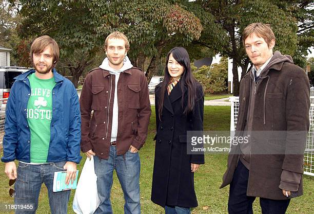 Aaron Stanford and Mark Webber, Eugenia Yuan and Norman Reedus