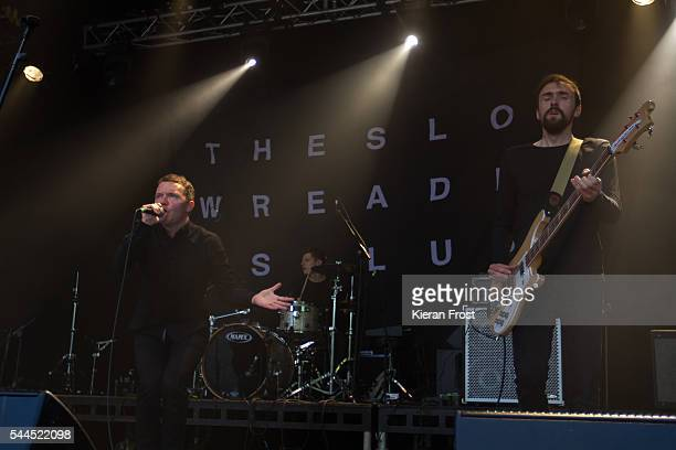 Aaron Starkie and James Ryan of The Slow Readers Club performs at CastlePalooza at Charville Castle on July 2, 2016 in Tullamore, Ireland.