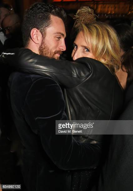 Aaron TaylorJohnson and Sam TaylorJohnson attend The Weinstein Company Entertainment Film Distributors Studiocanal 2017 BAFTA After Party in...