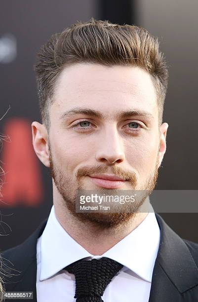 Aaron TaylorJohnson arrives at the Los Angeles premiere of 'Godzilla' held at Dolby Theatre on May 8 2014 in Hollywood California