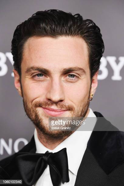 Aaron TaylorJohnson attends the 2018 Baby2Baby Gala Presented by Paul Mitchell at 3LABS on November 10 2018 in Culver City California