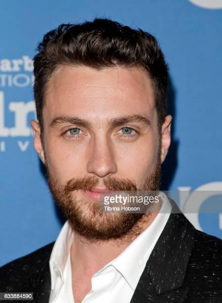 Aaron TaylorJohnson attends the 32nd Santa Barbara International Film Festival Virtuosos Tribute at Arlington Theater on February 4 2017 in Santa...