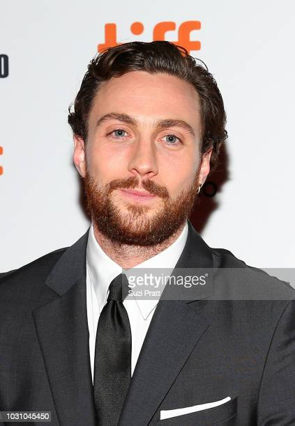 Aaron TaylorJohnson attends the A Million Little Pieces premiere during 2018 Toronto International Film Festival at Ryerson Theatre on September 10...