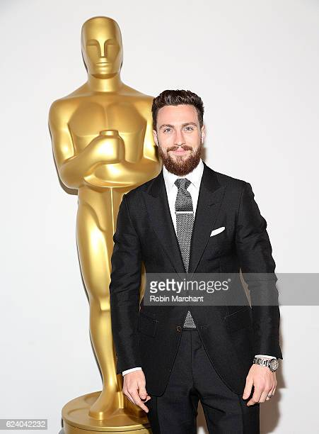 Aaron TaylorJohnson attends The Academy of Motion Picture Arts and Sciences Hosts an Official Academy Screening of NOCTURNAL ANIMALS at New York...