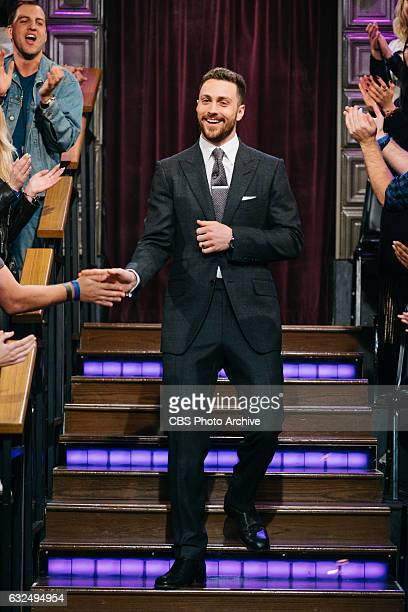 Aaron TaylorJohnson during 'The Late Late Show with James Corden' Tuesday January 17 2017 On The CBS Television Network