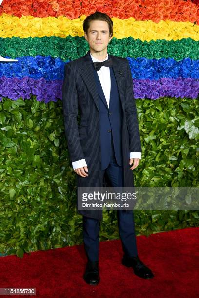 Aaron Tveit attends the 73rd Annual Tony Awards at Radio City Music Hall on June 09 2019 in New York City