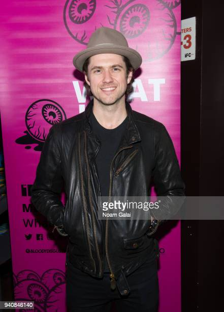 Aaron Tveit attends the Ghost Stories New York Premiere on March 31 2018 in New York City